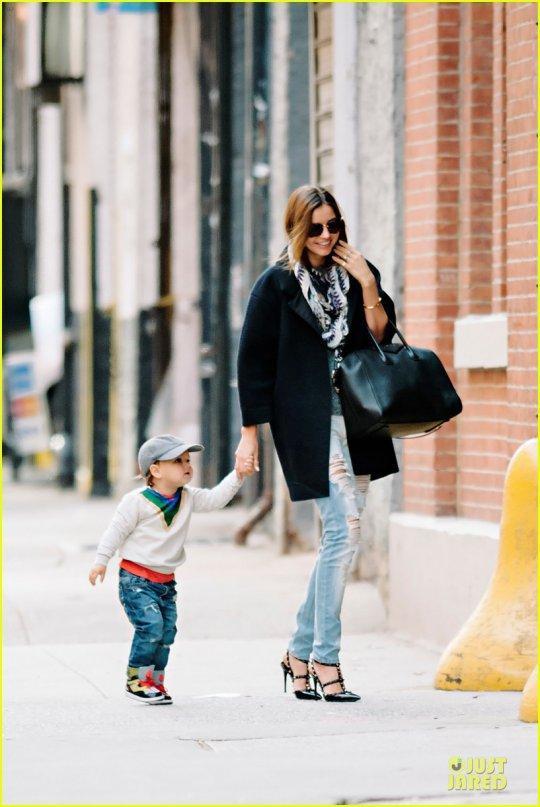 მირანდა ქერი შვილთან ერთად 20 ნოემბერს ნიუ-იორკში
