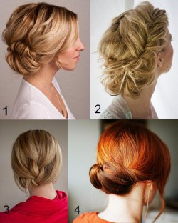 Fishtail Braid Bun Tutorial